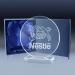 Trophée gravure laser cadeau d'entreprise