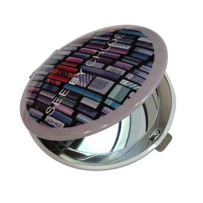 Miroir double cadeau publicitaire en vente au prix for Miroir publicitaire