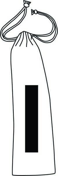 Paille avec logo  en acier inoxydable drink elegant