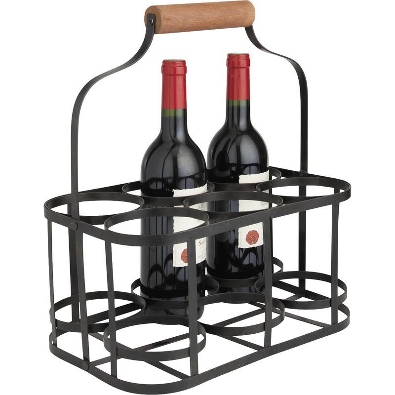 panier bouteilles personnalis vannerie. Black Bedroom Furniture Sets. Home Design Ideas