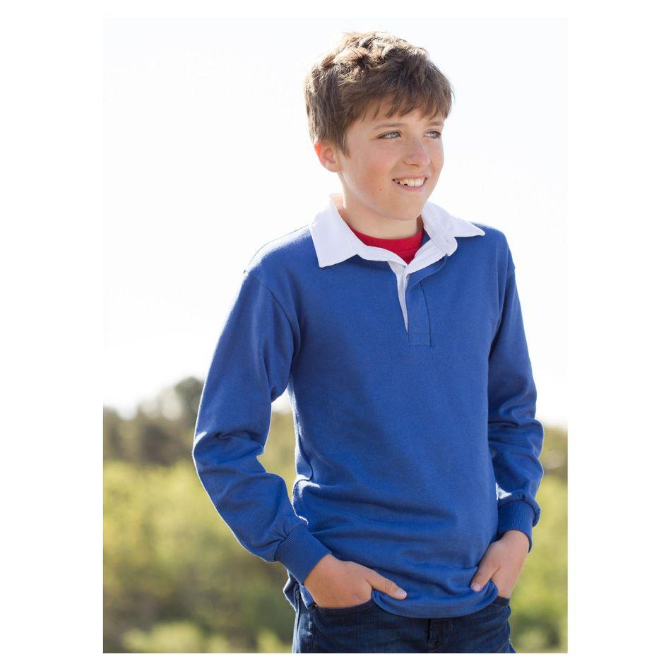 dc28819498092 Polo avec personnalisation rugby enfant (00016V0041912) à partir de ...