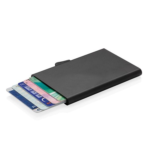 porte cartes en aluminium anti rfid c secure personnalisable 00027v0111797 partir de 14 70. Black Bedroom Furniture Sets. Home Design Ideas