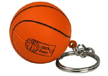 Porte-clés ballons de basket publicitaire