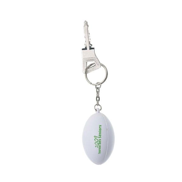 Porte-clés ballons de rugby personnalisé