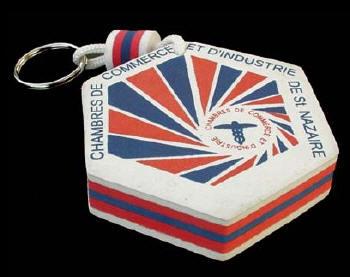 Porte-clés en mousse personnalisable