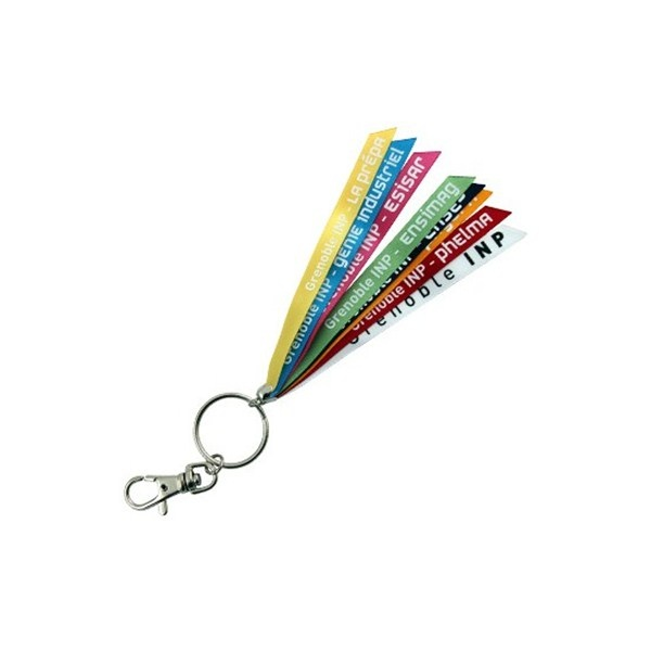 Porte-clés ruban promotionnel