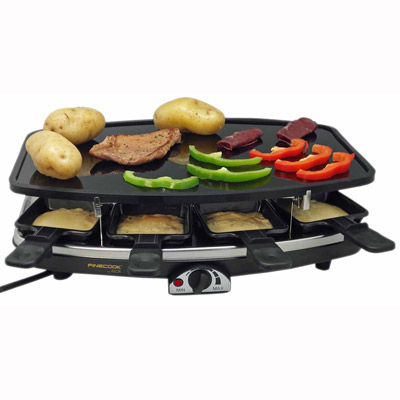 appareil service raclette personnalis grossiste. Black Bedroom Furniture Sets. Home Design Ideas
