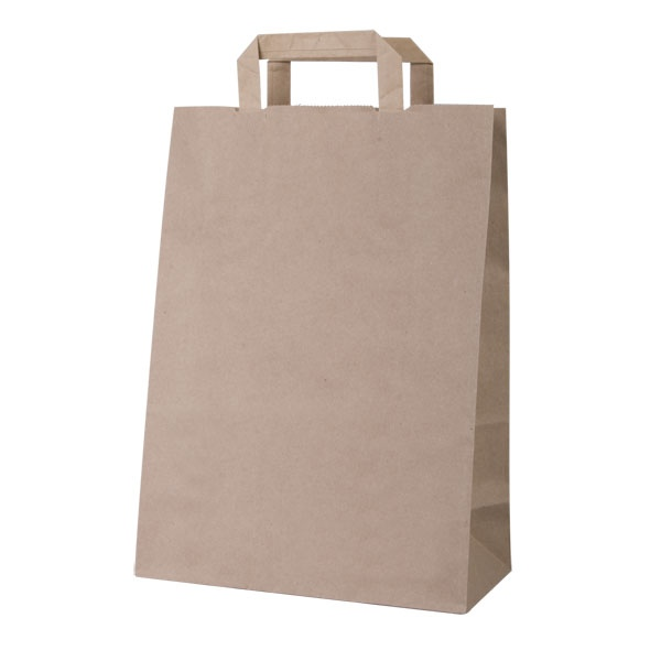 Sacs en papier recyclé avec marquage