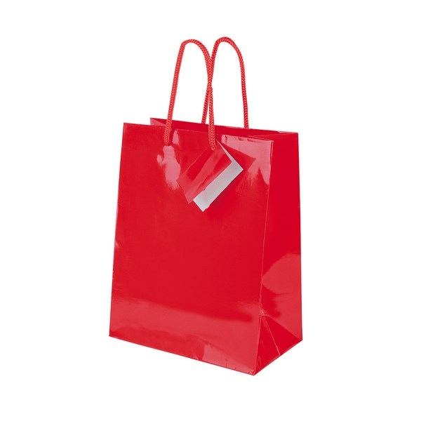 Sac papier cadeau 18 x 22 7 x 10 cm cadeau publicitaire en vente au prix gr - Papier cadeau personnalisable ...