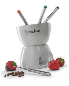 Services à fondue au chocolat personnalisé