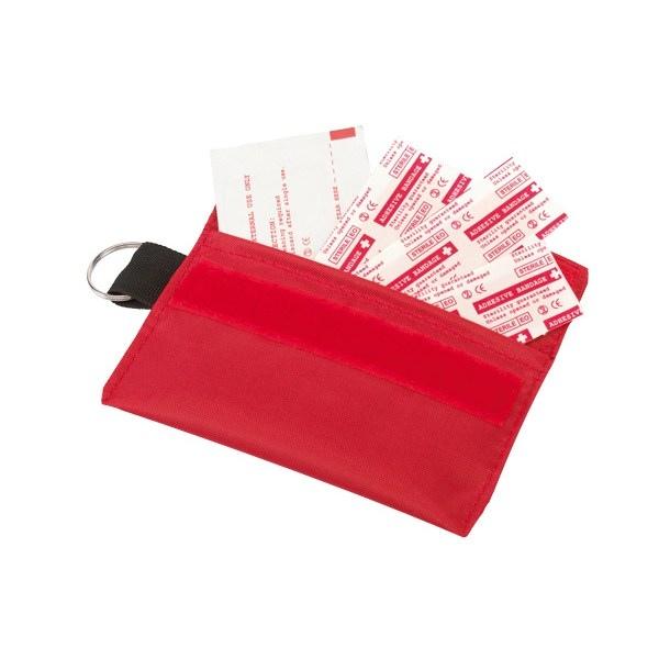 Trousses pharmacie de secours avec marquage