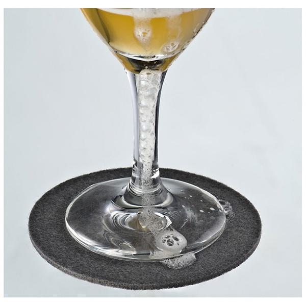 Set de 4 sous verre en feutre cadeau publicitaire en vente au prix grossiste 88855 Set de table publicitaire prix
