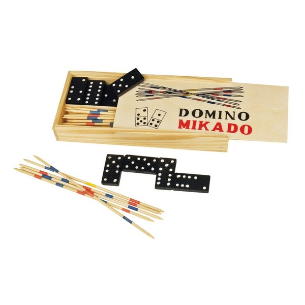 set de jeux domino et mikado cadeau publicitaire en. Black Bedroom Furniture Sets. Home Design Ideas