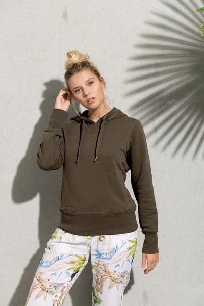 Sweat-shirt bio capuche femme - kariban personnalisable ... deab4daf2a4