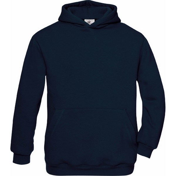Sweat shirt personnalisable capuche enfant b&c