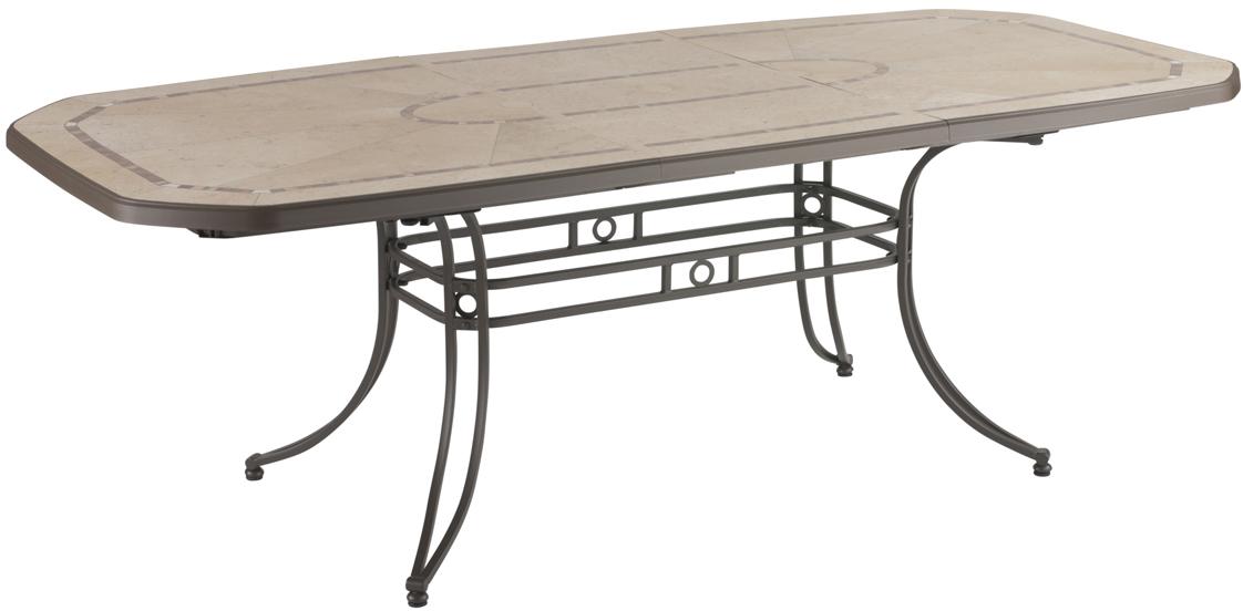 Table de jardin personnalis e avec logo grossiste objets - Table de jardin en acier ...