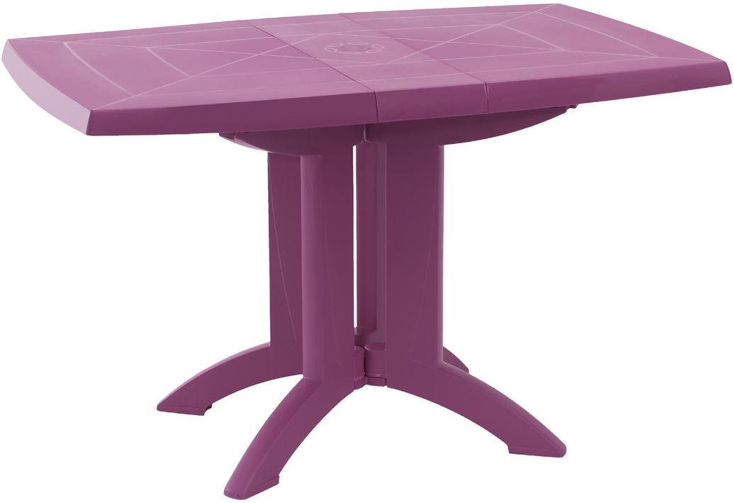 table ext rieure pliante fuchsia cadeau publicitaire en. Black Bedroom Furniture Sets. Home Design Ideas