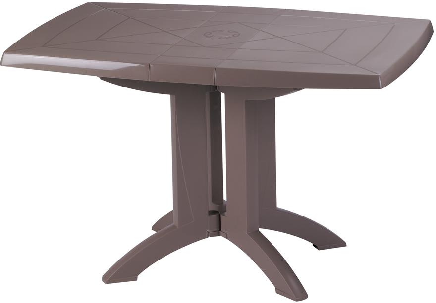 table ext rieure pliante taupe cadeau publicitaire en. Black Bedroom Furniture Sets. Home Design Ideas