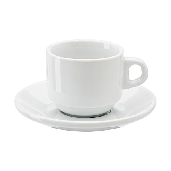 Tasse caf personnalis e avec logo grossiste objets - Tasse a cafe avec support ...