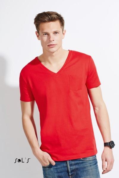 Tee-shirts col V personnalisable