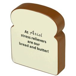 Nourritures et aliments en mousse antistress avec logo