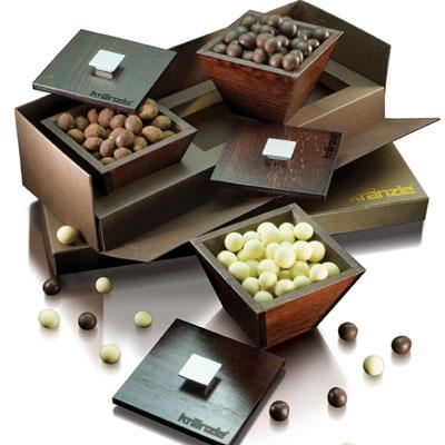 Ballotins et boîtes de chocolats promotionnel