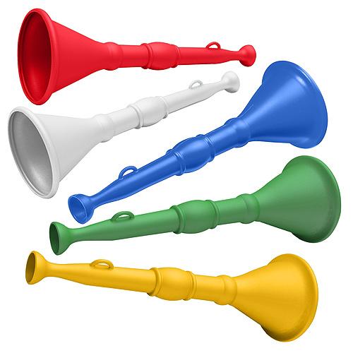Trompettes et cornes de brume avec marquage