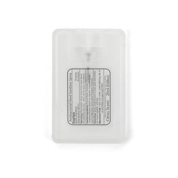 Flacons de gel antibactérien pour mains promotionnel