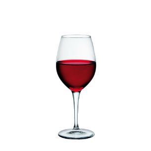 Verres à vin avec marquage