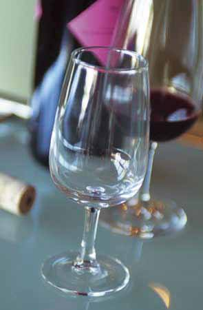 Verres à vin publicitaire