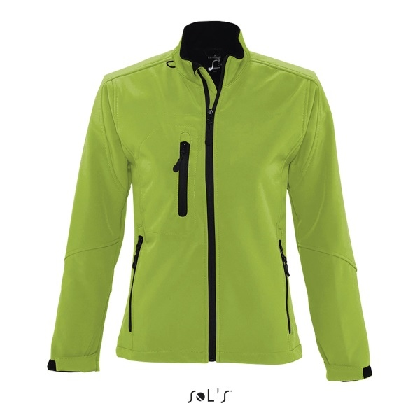 Zippée Veste Softshell Sol's Roxy Femme 46800 Personnalisable aaqwr65
