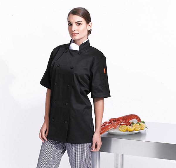 veste de cuisine personnalis e avec logo grossiste objets publicitaires. Black Bedroom Furniture Sets. Home Design Ideas