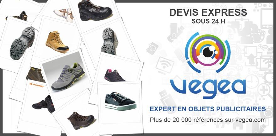 Chaussures de travail publicitaires personnalisées | Vegea