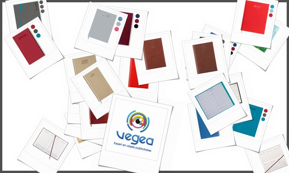Agendas personnalisables à votre effigie avec un logo, un texte ou une image | Grossiste et fabrication d'objets publicitaires et cadeaux d'entreprise