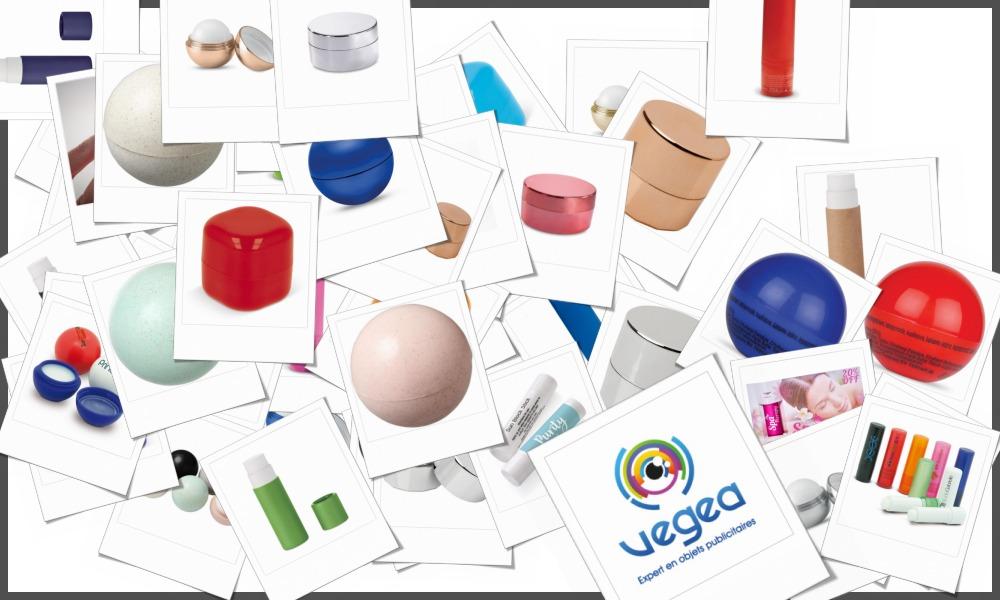 Baumes à lèvre personnalisables à votre effigie avec un logo, un texte ou une image | Grossiste et fabrication d'objets publicitaires et cadeaux d'entreprise