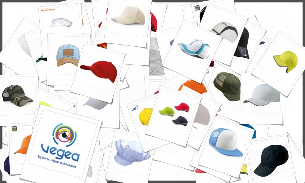 Casquettes personnalisables à votre effigie avec un logo, un texte ou une image | Grossiste et fabrication d'objets publicitaires et cadeaux d'entreprise