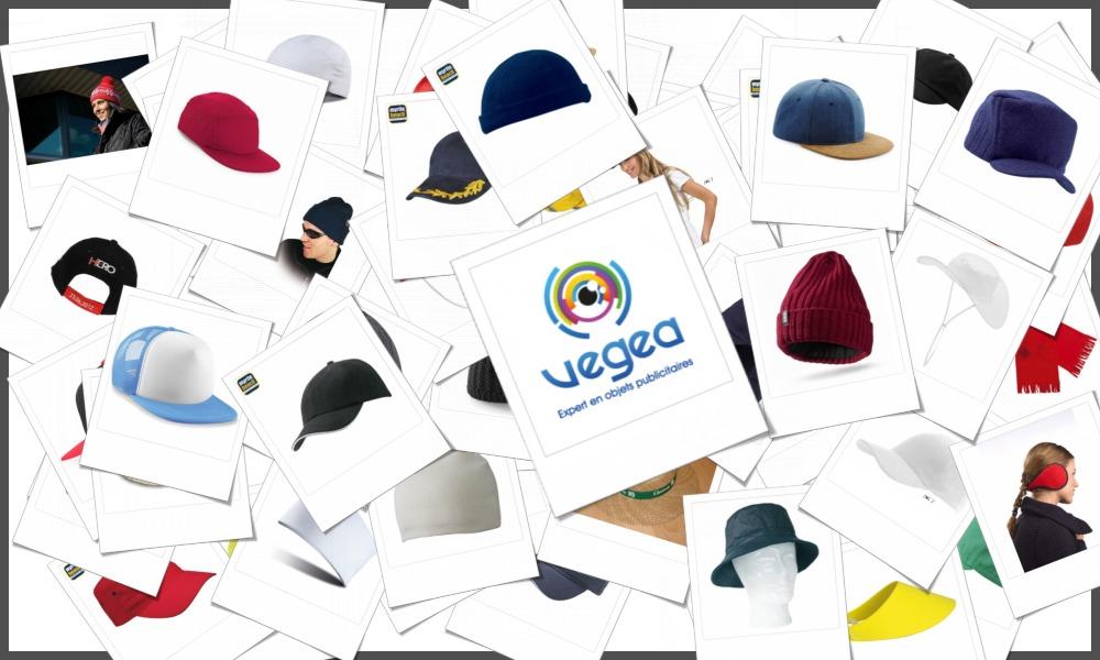 Vaste gamme de chapeaux, casquettes, visières et bonnets personnalisables à votre effigie (logo, texte)