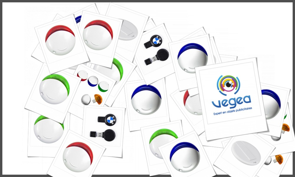 Clés USB rondes personnalisables à votre effigie avec un logo, un texte ou une image | Grossiste et fabrication d'objets publicitaires et cadeaux d'entreprise