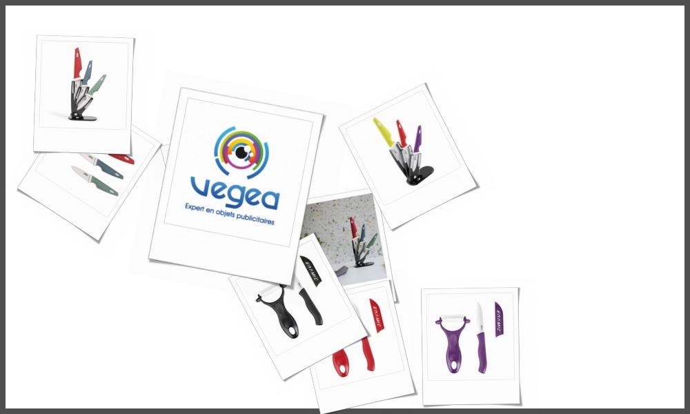 Couteaux céramique personnalisables à votre effigie avec un logo, un texte ou une image | Grossiste et fabrication d'objets publicitaires et cadeaux d'entreprise