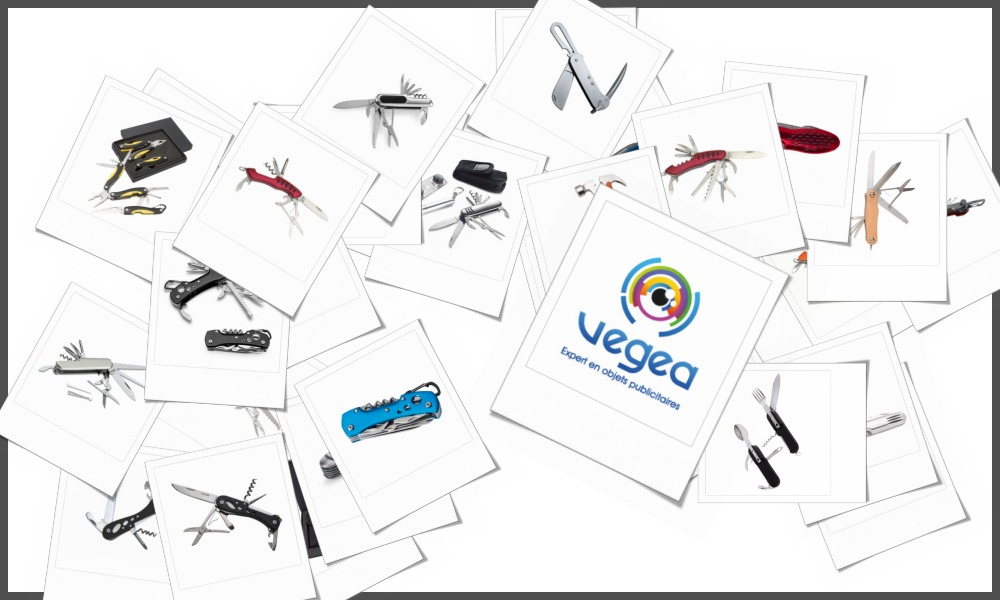 Couteaux multifonctions personnalisables à votre effigie avec un logo, un texte ou une image | Grossiste et fabrication d'objets publicitaires et cadeaux d'entreprise