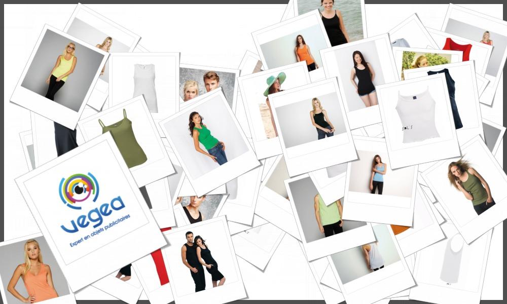 Débardeurs femmes personnalisables à votre effigie avec un logo, un texte ou une image | Grossiste et fabrication d'objets publicitaires et cadeaux d'entreprise