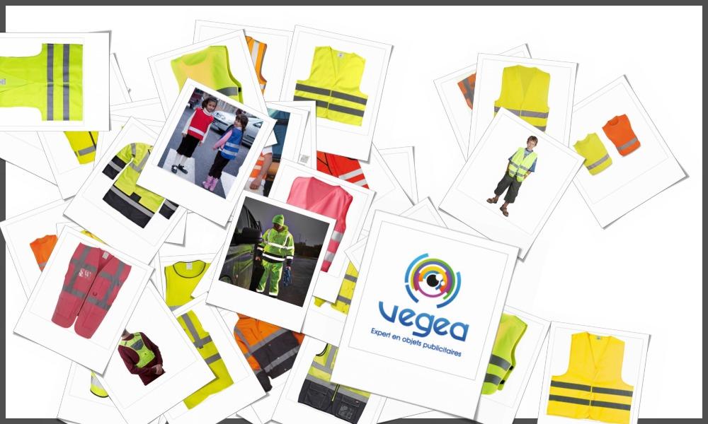 Gilets de sécurité personnalisables à votre effigie avec un logo, un texte ou une image | Grossiste et fabrication d'objets publicitaires et cadeaux d'entreprise