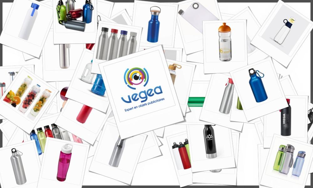 Gourdes personnalisables à votre effigie avec un logo, un texte ou une image | Grossiste et fabrication d'objets publicitaires et cadeaux d'entreprise