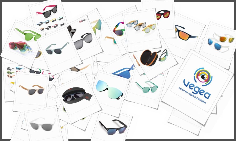 Lunettes de soleil personnalisables à votre effigie avec un logo, un texte ou une image | Grossiste et fabrication d'objets publicitaires et cadeaux d'entreprise