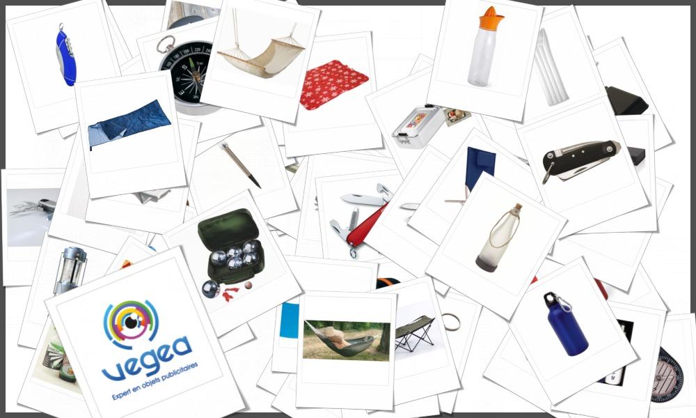 Grossiste en matériel de camping, avec ou sans personnalisation publicitaire (logo, texte)