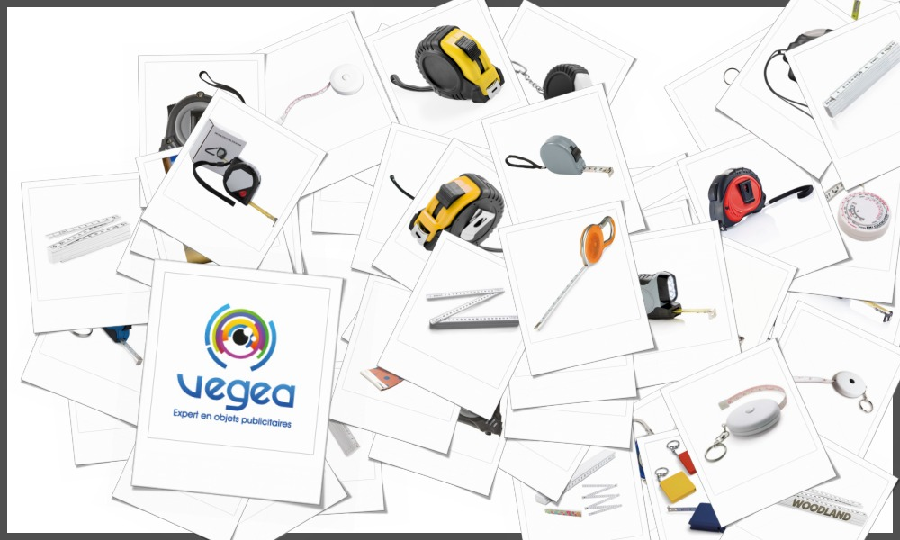 Mètres personnalisables à votre effigie avec un logo, un texte ou une image | Grossiste et fabrication d'objets publicitaires et cadeaux d'entreprise