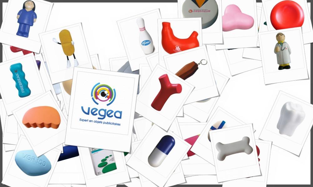 Objets médicaux en mousse anti-stress personnalisables à votre effigie avec un logo, un texte ou une image | Grossiste et fabrication d'objets publicitaires et cadeaux d'entreprise