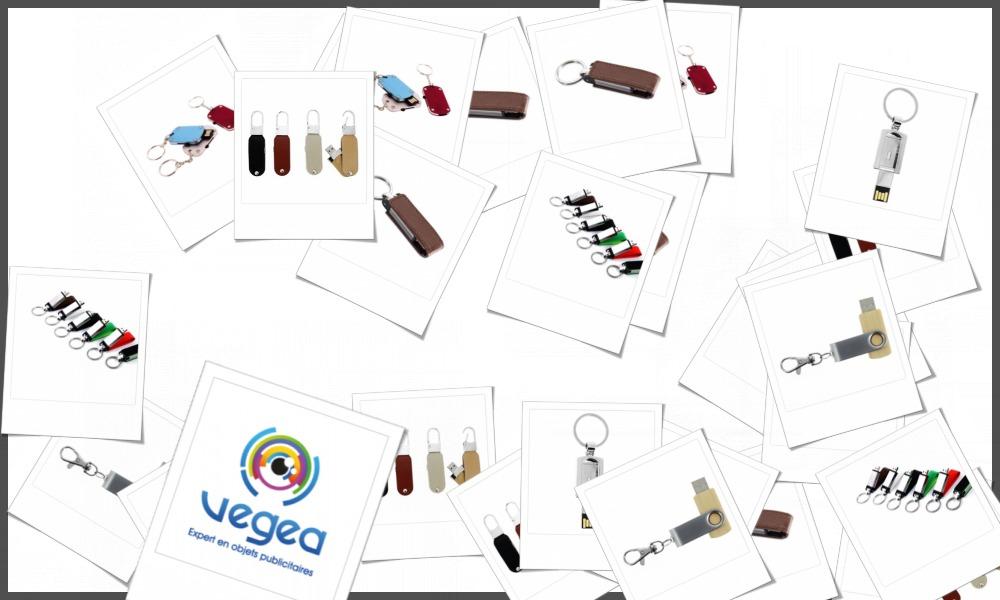 Porte-clés USB personnalisables à votre effigie avec un logo, un texte ou une image | Grossiste et fabrication d'objets publicitaires et cadeaux d'entreprise
