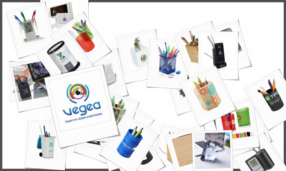 Pots à crayons personnalisables à votre effigie avec un logo, un texte ou une image | Grossiste et fabrication d'objets publicitaires et cadeaux d'entreprise