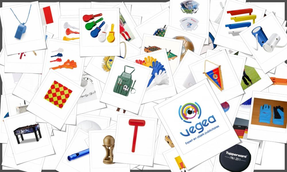 Vaste choix de produits dérivés pour supporters personnalisables à votre effigie (votre logo ou un texte)